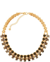 Lydell NYC Short Statet Crystal Necklace