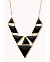 Forever 21 Statet Faux Stone Necklace