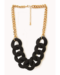 Forever 21 Street Chic Oversized Chain Necklace
