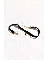 Urban Outfitters Bombay Velvet Choker Necklace