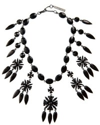 Givenchy Victorian Crystal Embellished Necklace