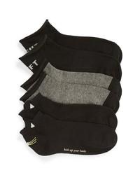 kate spade new york 3 Pack Hayden Cat Ankle Socks