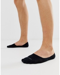 Calvin Klein Invisible Socks In Black