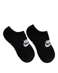 Nike Three Pack Black Nsw Everyday Essential Socks