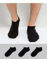 Levi's Trainer Socks 3 Pack Black