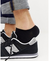 ASOS DESIGN Trainer Socks In Black