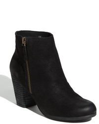 Black Nubuck Ankle Boots