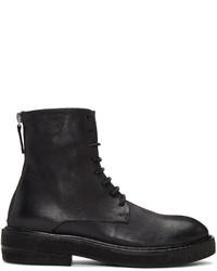 Marsèll Black Parrucca Lace Up Boots