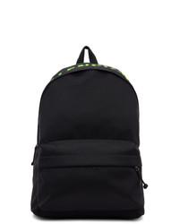 Balenciaga Black And Green Wheel Backpack