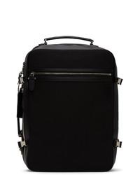 Neil Barrett Black Ballistic Cabin Backpack