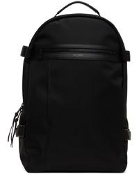 Saint Laurent Black Nylon City Trekking Backpack