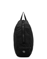 Stone Island Black Nylon Metal Watro Packable Backpack