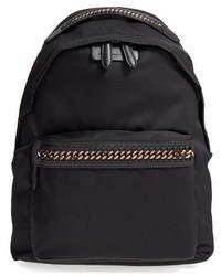Stella McCartney Falabella Go Nylon Backpack Black