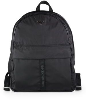 Emporio Armani Nylon Backpack   Where to buy   how to wear 1ab19dc8ca