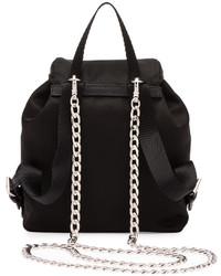 49610333f40b ... real prada vela mini crossbody backpack bag black 6323a 1285c
