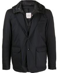 Moncler Layered Blazer Effect Padded Jacket