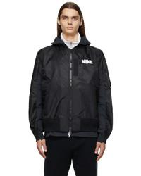 Nike Black Sacai Edition Bomber Jacket
