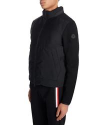 Moncler Nylon Front Tricot Jacket