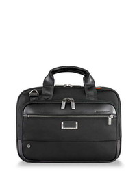 Briggs & Riley Work Small Expandable Ballistic Nylon Laptop Briefcase With Rfid Pocket