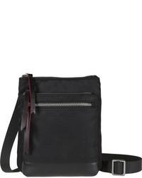 Lodis Los Angeles Zora Rfid Nylon Leather Crossbody Bag