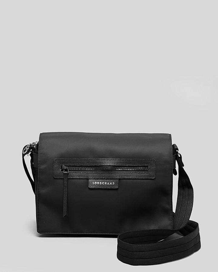 e209a9904e37 ... Black Nylon Crossbody Bags Longchamp Messenger Le Pliage Neo ...