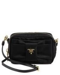 844e90b9c2ae Women's Black Nylon Crossbody Bags by Prada | Women's Fashion ...