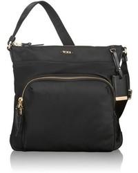 Tumi Voyageur Capri Nylon Crossbody Bag Black