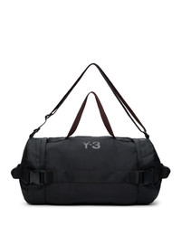 Y-3 Black Nylon Ch2 Gym Duffle Bag