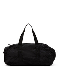 Stone Island Black Nylon Duffle Bag
