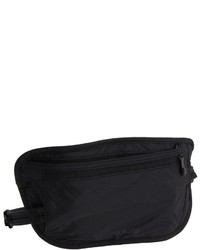 Black Nylon Fanny Pack