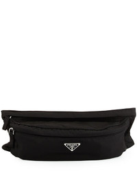 Prada Tessuto Montana Belt Bag Black