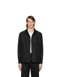 Neil Barrett Black Nylon Tela Jacket