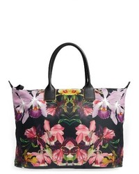 Ted Baker London Large Lost Gardens Tote Black