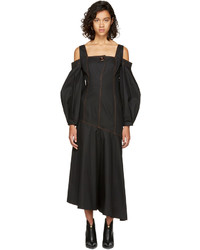 Ellery Black Mississippi Off The Shoulder Dress