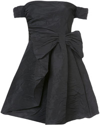 RED Valentino Off The Shoulder Bow Dress
