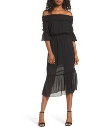 Off the shoulder midi dress medium 4951390