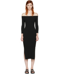 Rag & Bone Rag And Bone Black Kari Off The Shoulder Dress