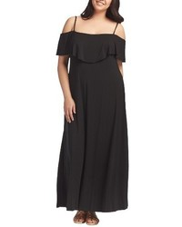 Tacita off the shoulder maxi dress medium 4343962
