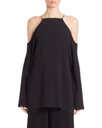 The Row Krauss Cold Shoulder Top