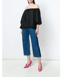 MARQUES ALMEIDA Marquesalmeida Off Shoulder Blouse