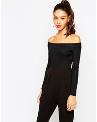 Daisy Street Off Shoulder Bodysuit