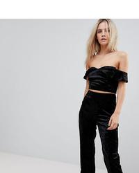 Vero Moda Petite Off Shoulder Crop Top