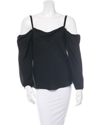 Rebecca Minkoff Silk Off The Shoulder Top W Tags