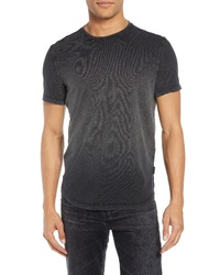 Black Ombre Crew-neck T-shirt
