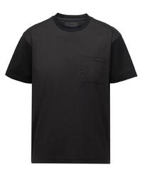 Prada Ombr Print Short Sleeve T Shirt