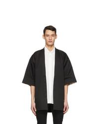 Naked and Famous Denim Black Haori Jacket