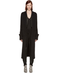Haider Ackermann Black Long Mohair Cardigan