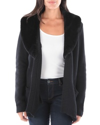 KUT from the Kloth Blair Faux Fur Collar Sweater