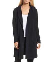 Barefoot Dreams Cozychic Lite Coastal Hooded Cardigan