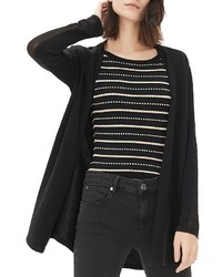 Sandro Glenwood Semi Sheer Cardigan